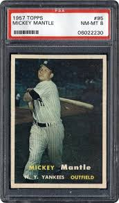 The Top 10 Mickey Mantle Baseball Cards Of All Time Cardboard Picasso