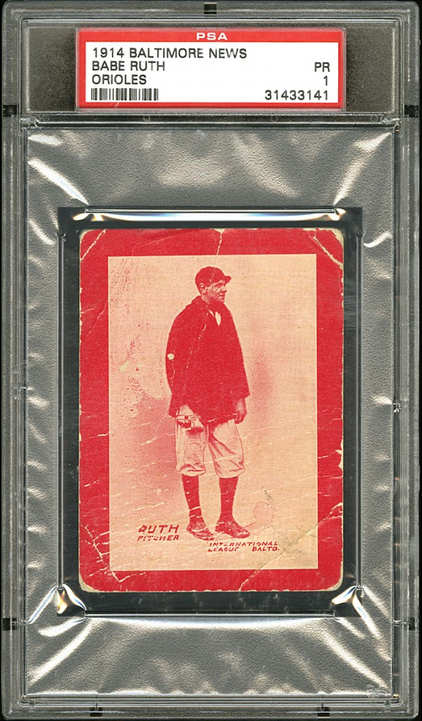The Top 10 Most Valuable Vintage Baseball Cards Of All Time