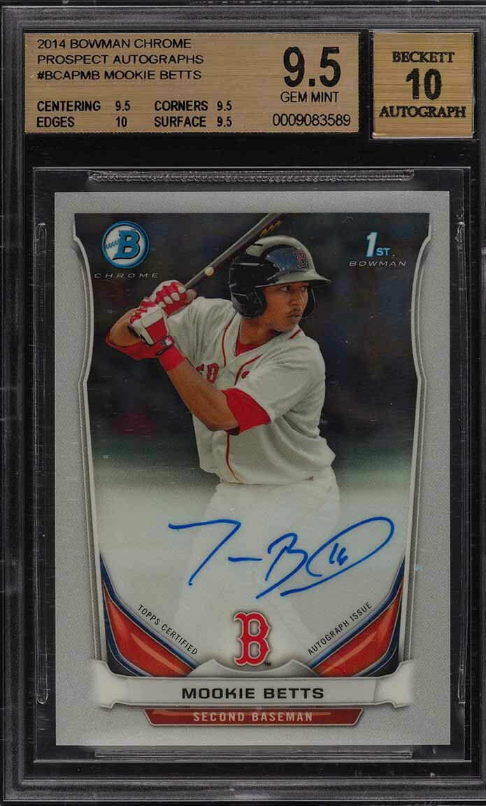 Top Rookie Cards of Current Baseball Players - Cardboard Picasso