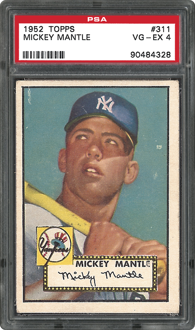 5974d9b0060 Mickey Mantle Rookie Card Versus S   P 500 Index   Which Is The Better  Investment  - Cardboard Picasso
