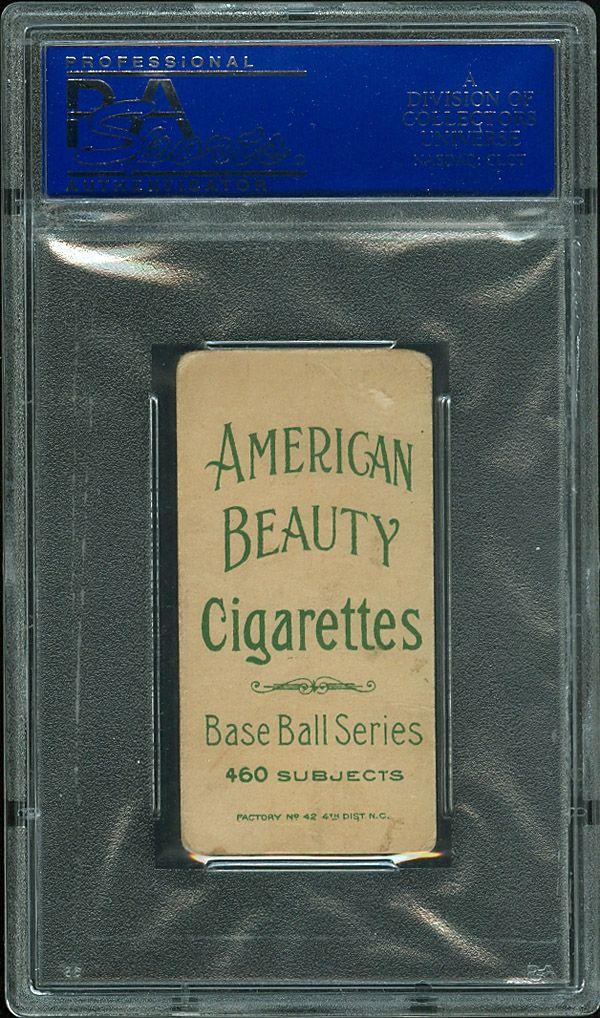 T206 American Beauty Rare Back