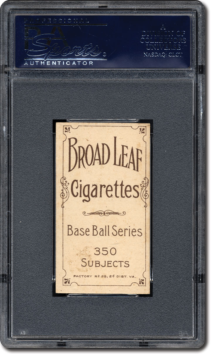 T206 Broad Leaf Rare Back