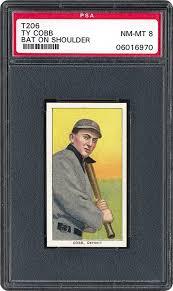 1909-1911 T206 Ty Cobb Bat On Shoulder