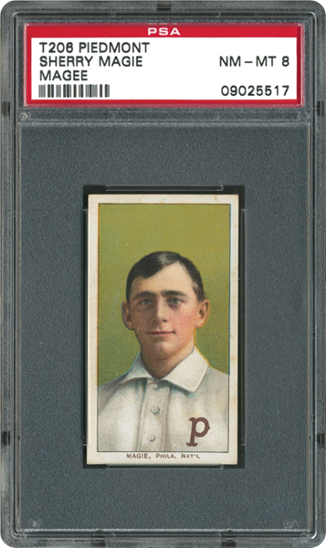 "1909 T206 Sherry Magee ""Magie"" Error"
