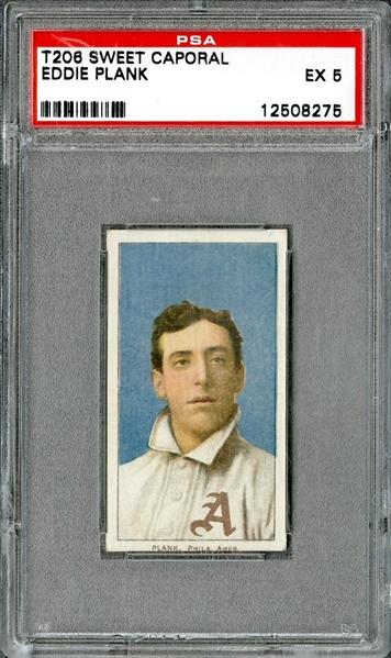 1909 T206 Eddie Plank-Super Rare Card