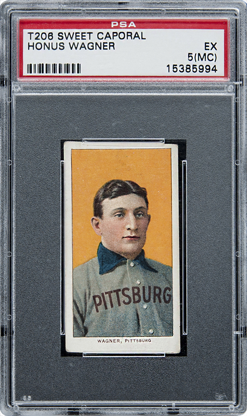1909 T206 Honus Wagner Jumbo Gretzky