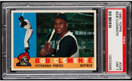 1960 Topps Roberto Clemente #326 HOF PSA 7 - Centered & High-End