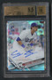 2017 Topps Chrome Refractor Cody Bellinger Rookie RC Auto /499 BGS 9.5 Gem Mint