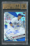 2018 Topps Chrome Blue Refractor Cody Bellinger Rookie Auto BGS 9.5 Gem/150