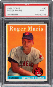 1958 Topps Roger Maris RC Rookie #47 PSA 7-Centered