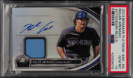 2013 Bowman Platinum Nolan Arenado ROOKIE RC AUTO PATCH PSA 10 GEM Mint