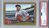 2014 Topps Update Mookie Betts Rookie Gold #US301 PSA 10 GEM MINT