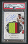 2017 Panini Flawless John Collins RC Rookie Auto Patch #SSJC PSA 9 Mint