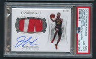 2017 Flawless John Collins RC Rookie Auto Patch /25 PSA 8