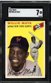 1954 Topps Willie Mays #90 HOF SGC 7-Centered & High-End