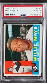 1960 Topps Willie Mays #200 HOF PSA 4
