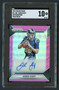2016 Panini Prizm Jared Goff RC Rookie Auto SGC 10 Gem Mint-Pink Variation