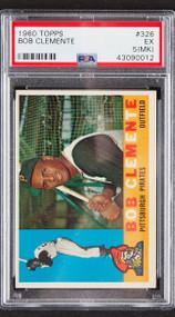 1960 Topps Roberto Clemente #326 HOF PSA 5 MK
