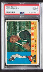 1960 Topps Roberto Clemente #326 HOF PSA 2-Nice