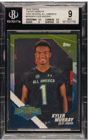 2015 Topps Under Armour All-America Kyler Murray Pre-Rookie RC