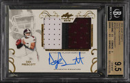 2016 Leaf Trinity Dak Prescott RC Rookie Auto Patch RPA BGS 9.5 Gem Mint