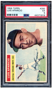 1956 Topps Luis Aparicio RC Rookie #292 HOF PSA 5-Centered & High-End Look