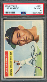1956 Topps Luis Aparicio RC Rookie #292 HOF PSA 6-Centered & High-End