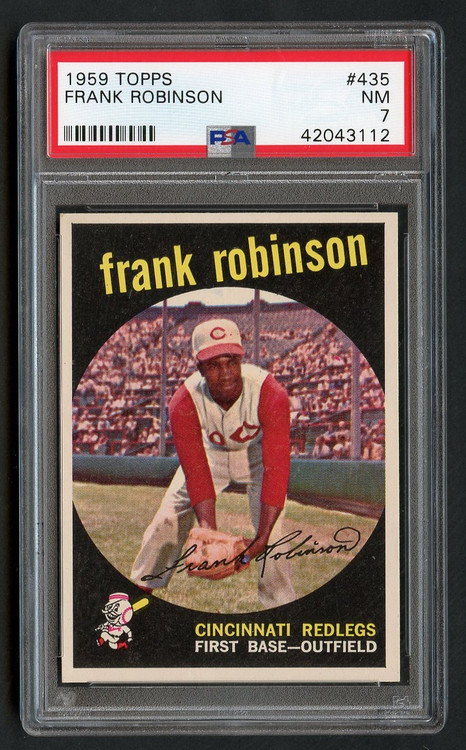 1959 Topps Frank Robinson #435 HOF PSA 7-Centered & High-End