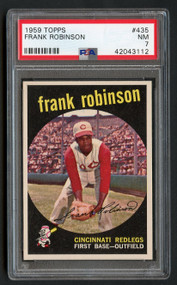 1959 Topps Frank Robinson #435 HOF PSA 7-Centered & High-End