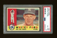 1960 Topps Whitey Ford #35 HOF PSA 6-Centered & High-End