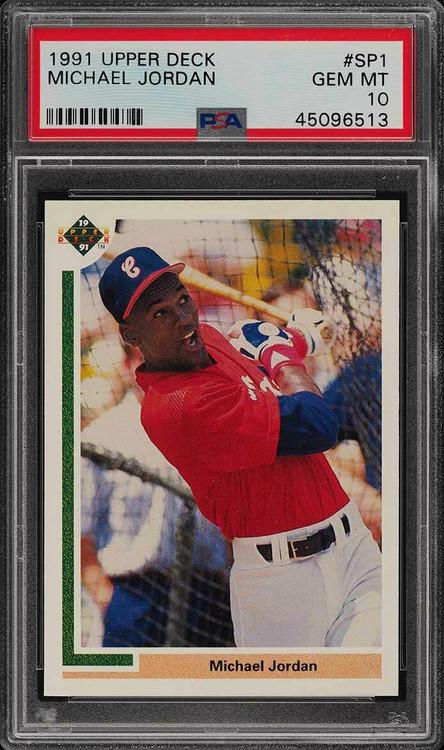 1991 Upper Deck Michael Jordan RC Rookie Baseball #SP1 PSA 10 Gem Mint