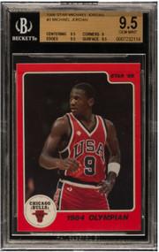 1986 Star Michael Jordan Rookie RC #3 BGS Gem Mint