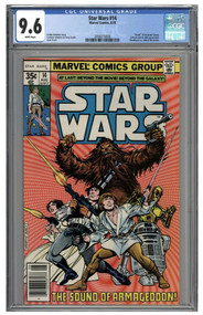 8/1978 Marvel Comics Star Wars #14 CGC 9.6 White Pages Mint