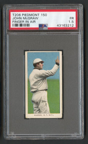 1909 T206 John McGraw Finger in Air HOF PSA 1.5