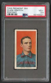 1909 Piedmont Clark Griffith Portrait HOF PSA 3.5