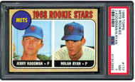1968 Topps Nolan Ryan Rookie RC HOF #177 PSA 7 - Centered