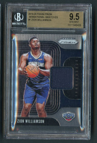 2019 Prizm Zion Williamson Rookie RC Patch BGS 9.5 Gem Mint