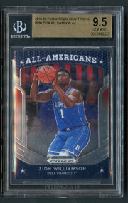 2019 Prizm All Americans Zion Williamson Rookie RC BGS 9.5 Gem Mint