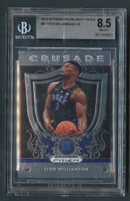 2019 Prizm Crusade Zion Williamson Rookie RC BGS 8.5