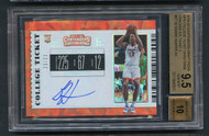 2019 Contenders Cracked Ice Deandre Hunter Rookie RC Auto /23 BGS 9.5 Gem Mint