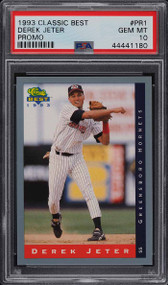 1993 Classic Best Minor League Promo Derek Jeter ROOKIE PSA 10 GEM MINT
