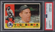 1960 Topps Yogi Berra Auto PSA/DNA Authentic