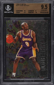 1996 Metal Basketball Kobe Bryant ROOKIE RC #181 BGS 9.5 GEM MINT w/10 subs