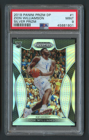 2019 Prizm DP Silver Zion Williamson Rookie RC #1 PSA 9 Mint