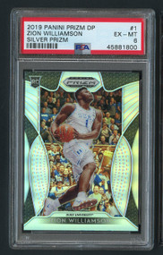 2019 Prizm DP Silver Zion Williamson Rookie RC #1 PSA 6