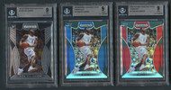 2019 Prizm Zion Williamson Graded Rookie Lot-All BGS 9 Mint