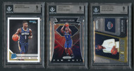2019 Zion Williamson NBA Rookie RC 3-Card Lot-All BGS 9 Mint