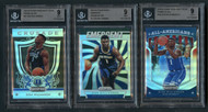 2019 Zion Williamson Rookie RC Prizms Silver 3-Card Lot-All BGS 9 Mint