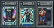 2019 Prizm Zion Williamson Rookie RC Insert 3-Card Lot-All  BGS 9 Mint