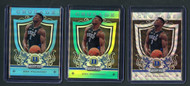2019 Panini Prizm Zion Williamson Rookie RC Serial Numbered 3-card Raw Lot